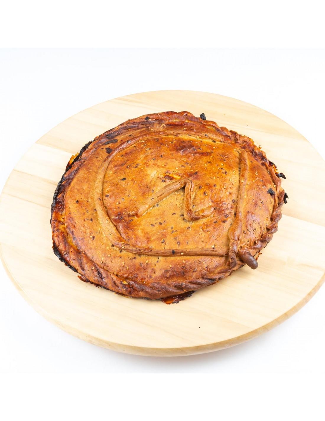 Empanada Top de zorza y huevo frito