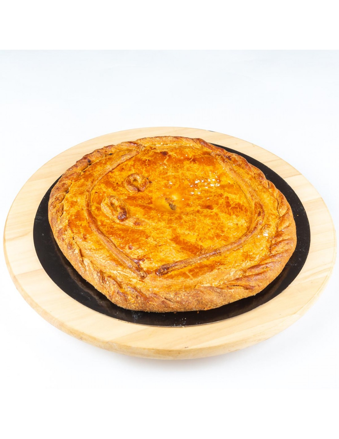 Empanada de pollo con champiñones