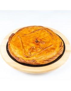 Empanada de zorza con chorizo